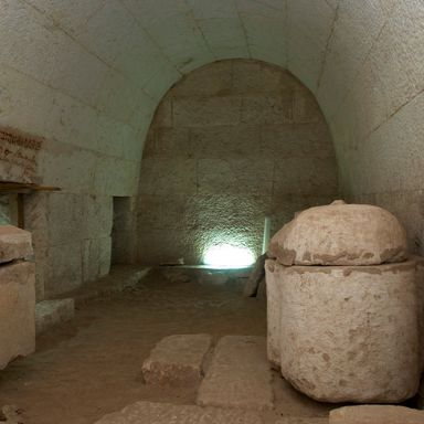 Burial chamber in Tomb 1