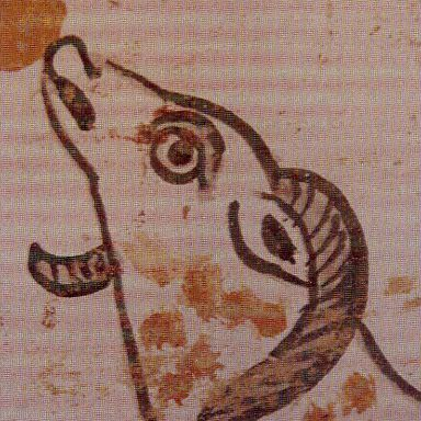 detail of a lamb