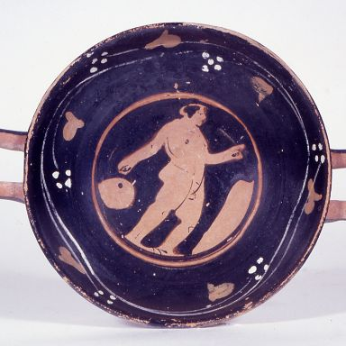 Attic kylix from Tomb 49 at Baza